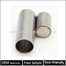 BX004 OEM 304 pulsera de cuero magnético del acero inoxidable broche de la joyería de DIY hallazgos para las pulseras de la cuerda muestra libre