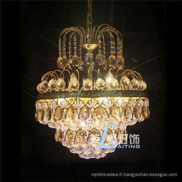 Vente chaude cristal lustre à la maison lampe décorative petite lumière en cristal LT-72075