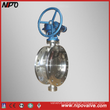 Stainless Steel Triple Eccentric Butterfly Valve