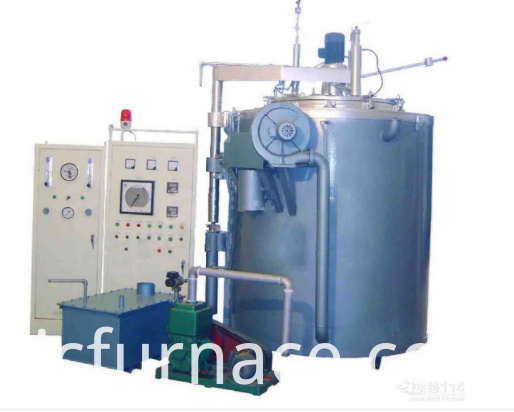 Pit type gas nitriding furnace debugging