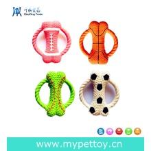Produtos de alta qualidade do cão do brinquedo do animal de estimação do látex