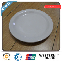 """7 """"Dinner Plate (schmaler Rand) auf Lager mit günstigen Preis"""