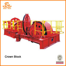 API Standard Drill Rigg Crown Block