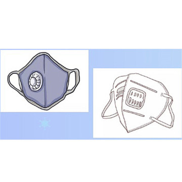 Dust Respirator Ffp2 3M Anti Pollution Mask N95