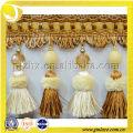 Turkey design tassel fringe for curtain decoration