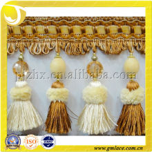 Turkey design tassel fringe for curtain decoration
