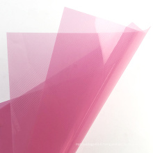 2020 Fast delivery A4 Size Rigid Pink PP Plastic Binding Cover Sheet