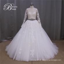 Venda quente Ak041 Plus tamanho Bridal casamento vestido 2016
