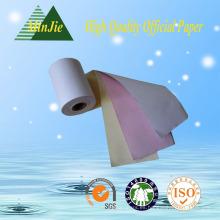 100% de pasta de madera de excelente calidad 3 Ply Carbonless NCR papel