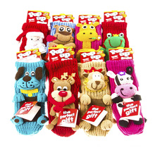 16FZCSS5 pop up holiday gift christmas socks decoration