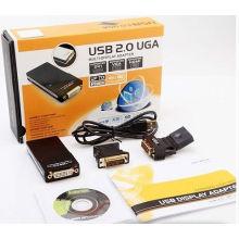 Moniteur d'affichage multi-écrans VGA/DVI/Hdm convertisseur USB 2.0
