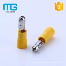 O terminal isolado do PVC da alta qualidade o homem isolado da bala desconecta com ROHS