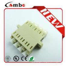 Quad LC Optic Fiber Adapter