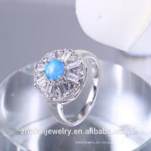 Anillo de bodas de compromiso anillo de piedra de ópalo precio
