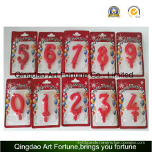 Hot Sale Birthday and Party Cake Candle --Number Shape Candle