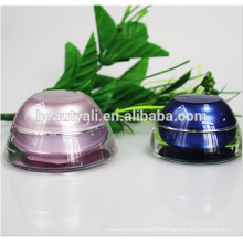 Domed Fancy Plastic Acrylic Jars For Cosmetics 5ML 15ML 30ML 50ML