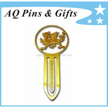 High Quality Zinc Alloy Book Mark in Gold Plating (bookmark-003)