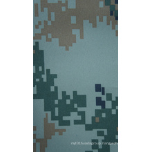 Fire Resistant 300d Camouflage Fabric with PU Coating