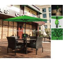 Открытый металлический вися квадратная патио рынка зонт