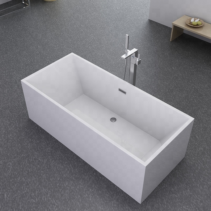 Rectangle Freestanding Bathtub
