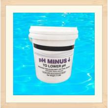 Сухой кислоты/рН - минус для Плавательному бассейну Химикат водоочистки (Бисульфата натрия)
