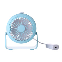 Desk Small Table Rechargeable Fan with 360 Rotation