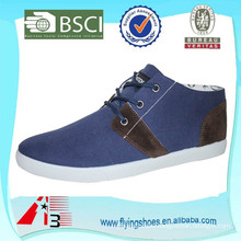 factory price high quality cheap injection canvas shoes for men