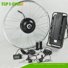 Kit de moteur de vélo électrique de roue avant de haute puissance 500W