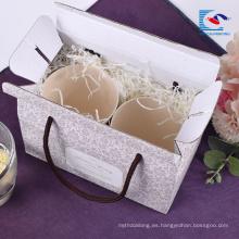 Caja de papel de empaquetado corrugado del regalo de la fruta profesional impresa aduana