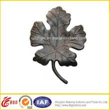 Оптовая Декоративные кованые железные листья