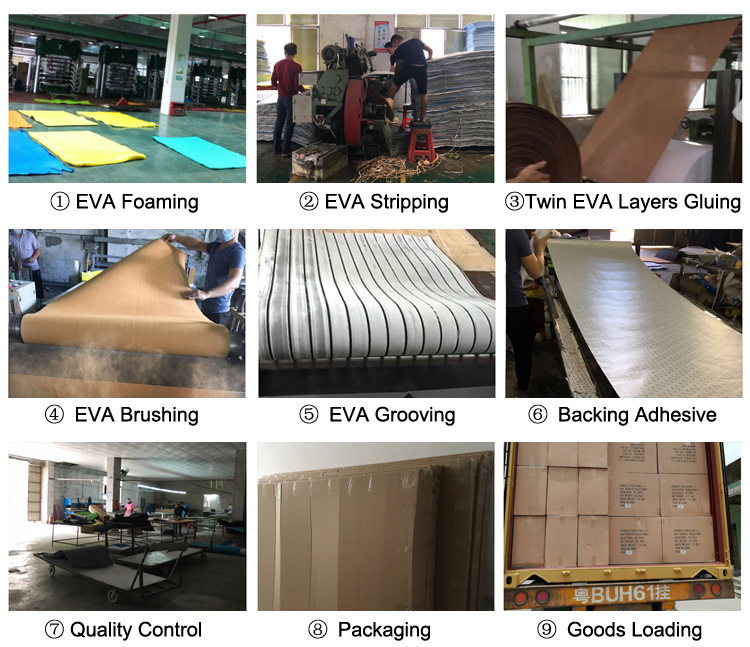 EVA Foam For Boat Floor Deck Materials Padding