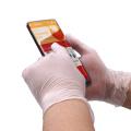 безопасные стерильные перчатки с ПВХ покрытием без пудры