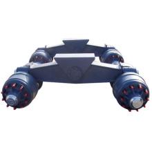 rigid walking beam suspension
