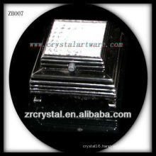 Black Plastic LED Light Base for Crystal