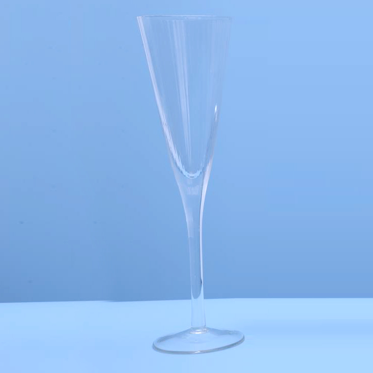 Ribbed Wine Glass Goblets