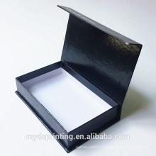 Logo fait sur commande de boîte-cadeau de papier de carton de porte coulissante de magnétique et d'allumette