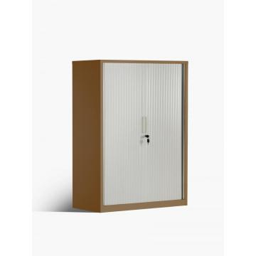 Gabinete de almacenamiento de archivos de metal con puerta de persiana enrollable