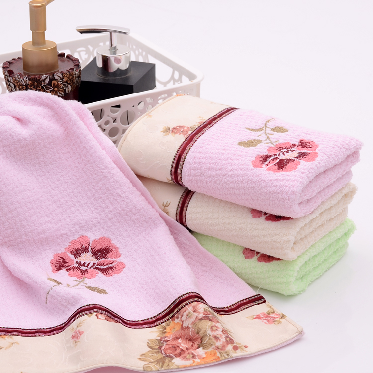 Floral Hand Towels