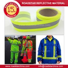 Dauerhafte Sicherheit reflektierenden Stoff für Arbeitskleidung