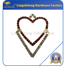Wholesaler Jewelry Alloy Rhinestone Badge
