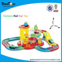 50PCS cartoon toy electric rail car
