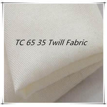 TC 65 35 Woven Twill Grey Fabric