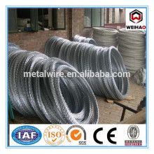 450mm hot dipped galvanized concertina razor barbed wire