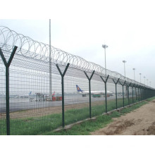 Y Post Barbed Wire Airport Fence (YB-fence1)