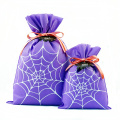 Pureple Gift Bag Embalaje Dulces de Halloween