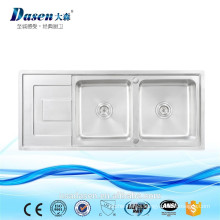 DS -11650 hot selling stainless steel stand Malaysia USED kitchen sink for sale