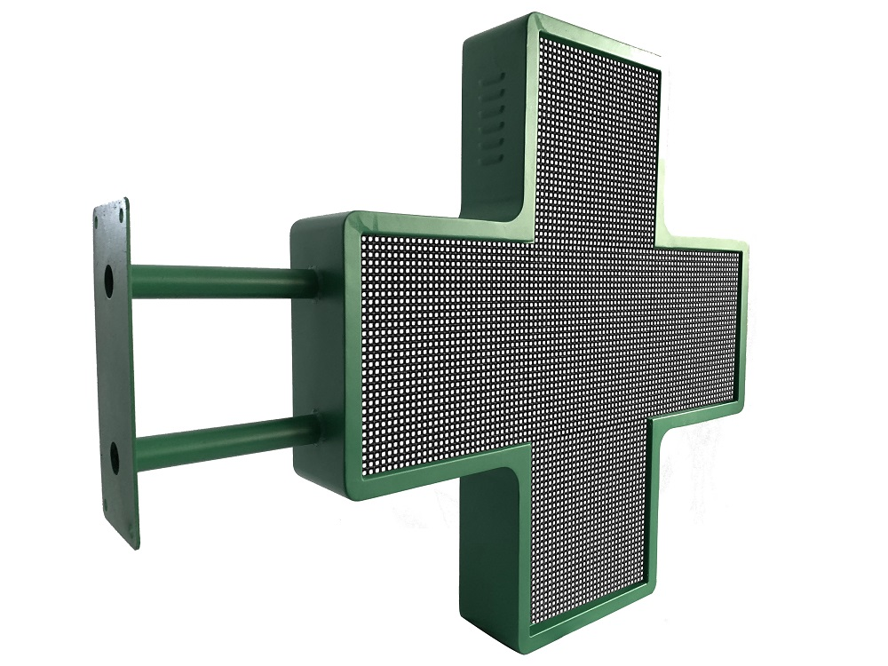 P6p8 Double Side Cross Pharmacy Led Display