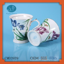 mug printed with our logo and image placed in individual window box