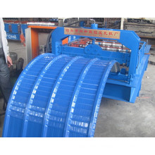 Glazed Tile Arch Curving Roofing Forming Machine