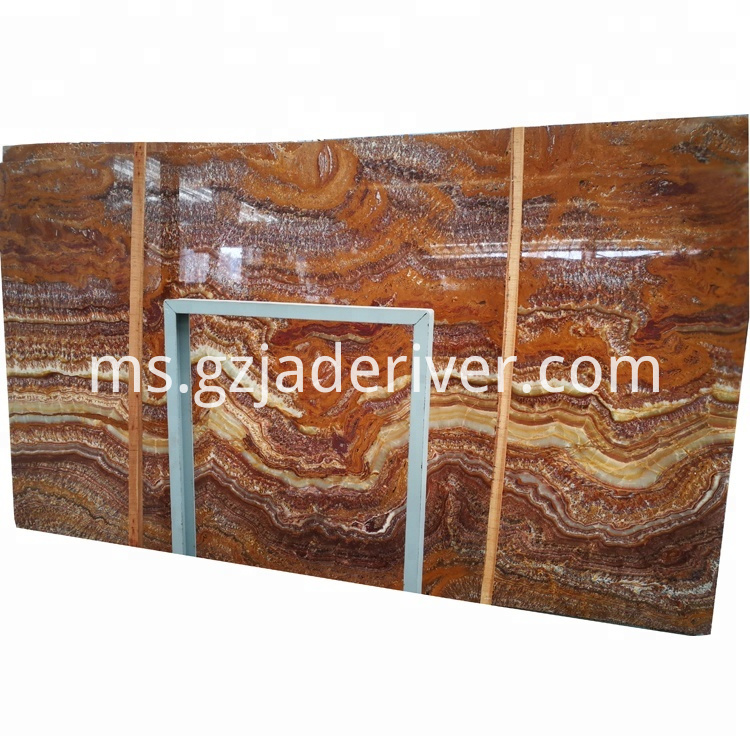Brown Onyx Stone Slab